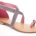 Unze New Flat Sandals Collection 2013 for Ladies-9