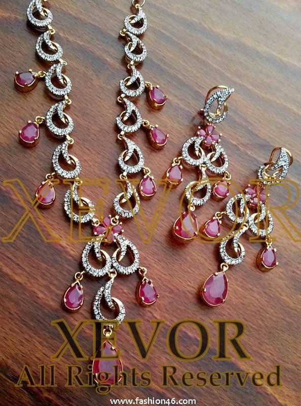 Xevor Wedding Jewellery Fashion 2013 for Ladies