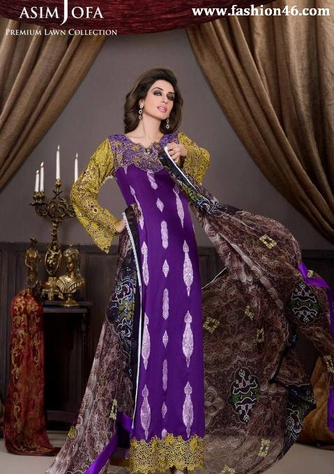 2013 Lawn Collection For Women by Asim Jofa 2013 Lawn Collection For Women by Asim Jofa