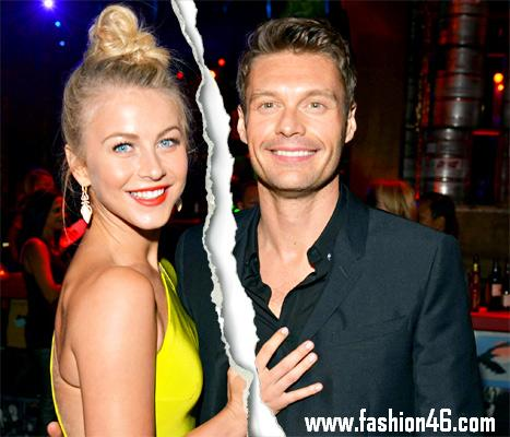 After two years Ryan Seacrest and Julianne Hough break-up