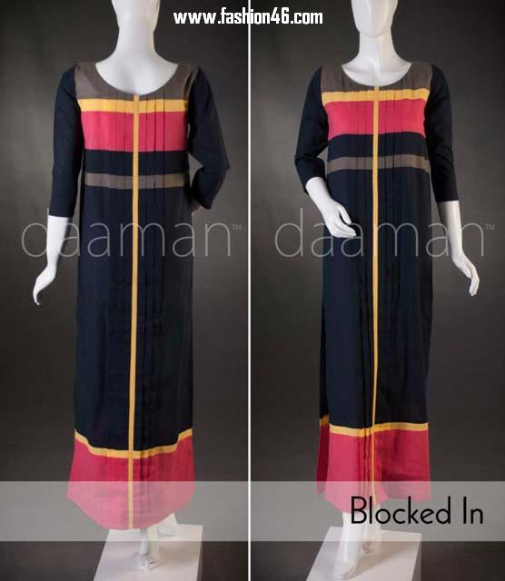 Daaman 2013 Casual Wear Outfits Collection For Women Beautiful Silaayi Outfits Kurta fashion 2013 for Ladies