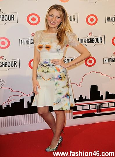 Hot Blake Lively Target Canada Launch