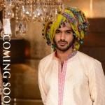 Jamdani Royal Men and women Dresses 2013 by Ajwa Textile-7