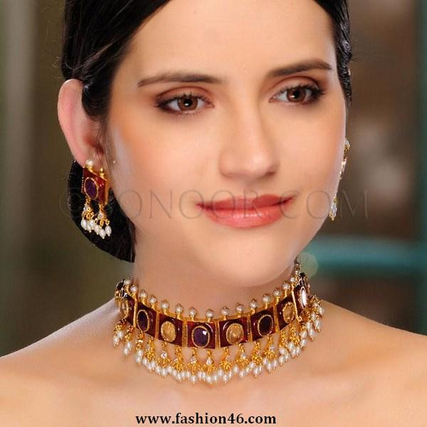 Latest 2013 Jewellery Fashion Collection by Sonoor Jewels