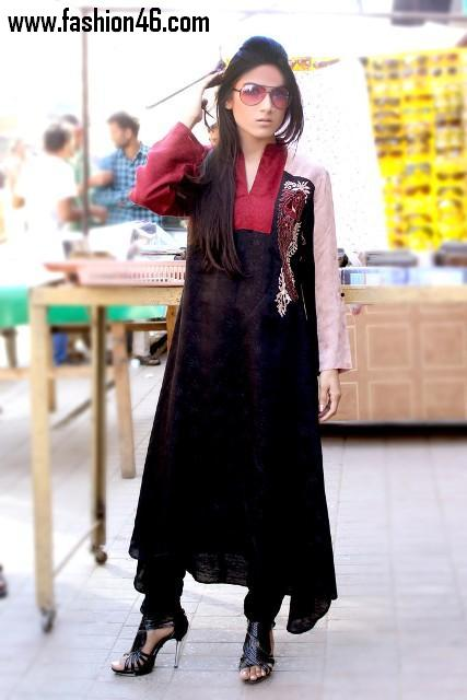 Latest Damak Spring Collection 2013 For Girls