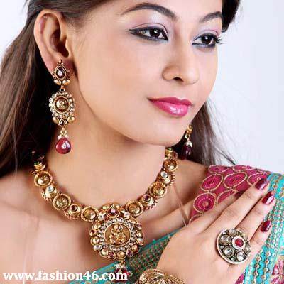 Latest Party Wear 2013 Jewellery fashion by Kaneesha