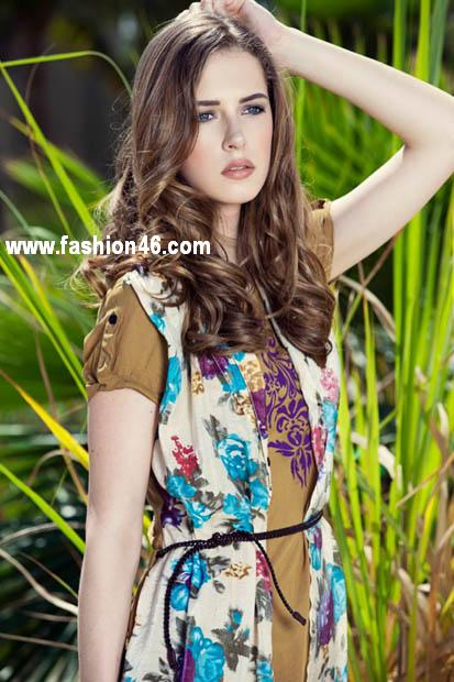 Men Women 2013 Forecast Western Wear Summer Collection Daaman 2013 Casual Wear Outfits Collection For Women
