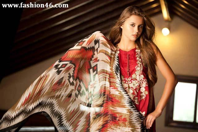 Women Spring Summer 2013 Collection by Firdous