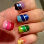 Beautiful Nail Art Designs 2013 for Girls-12