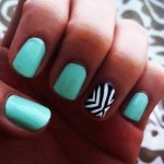 Beautiful Nail Art Designs 2013 for Girls-9