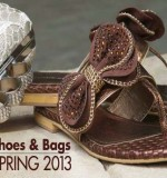 Ideas Women Spring Shoes and Handbags Collection 2013 By Gul Ahmed-6