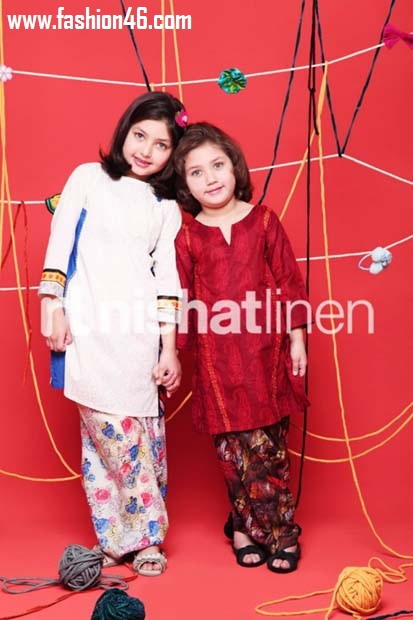 Nishat Linen Spring Summer 2013 Collection for Kids