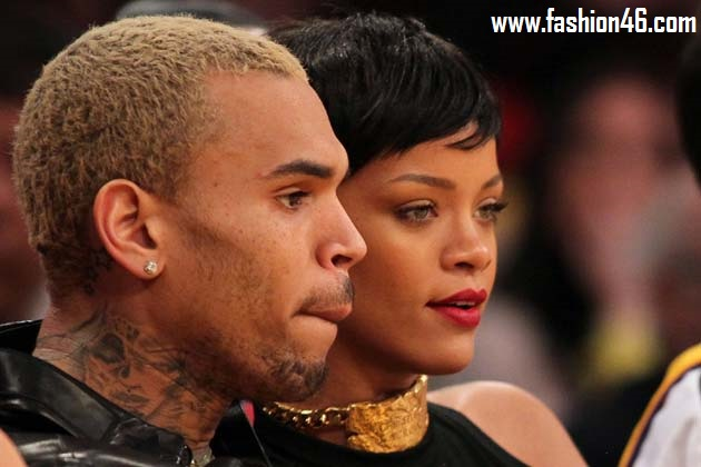Rihanna Gets Back To LA & See Chris Brown
