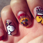 Stylish Nail Art 2013 Designs for Girls-2