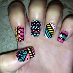 Stylish Nail Art 2013 Designs for Girls-4