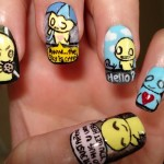 Stylish Nail Art 2013 Designs for Girls-7