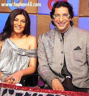 Sushmita Sen and Wasim Akram Refutes Marriage Rumours