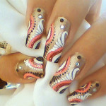 Latest Nail Designs Trends For Short & Long Nails 2013-6