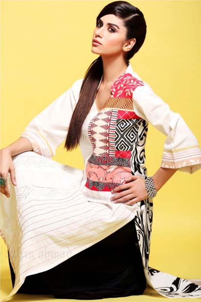 Zahra Ahmad Latest Summer Dresses Collection 2013 for Girls Zahra Ahmad Latest Summer Dresses Collection 2013 for Girls