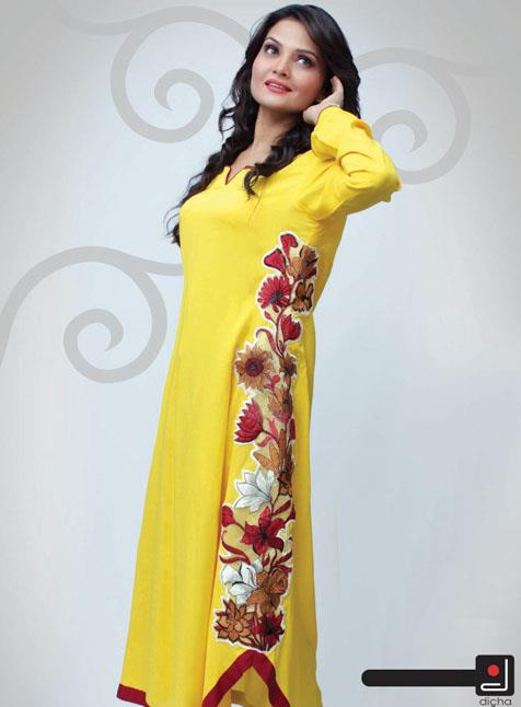 Latest Dicha Ready to Wear Dresses For Women Vol 3 2013