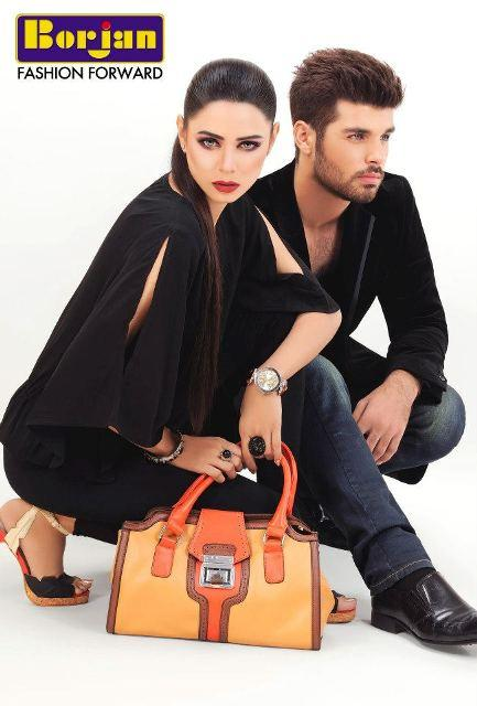 Latest Bridal Hand Bags Footwear Collection by Borjan 2013 Latest Bridal Hand Bags & Footwear Collection by Borjan 2013