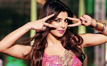 "Hot Priyanka Shoots Item Number for Ram Leela Item Number by Madhuri Dixit in ""Yeh Jawaani Hai Deewani"""