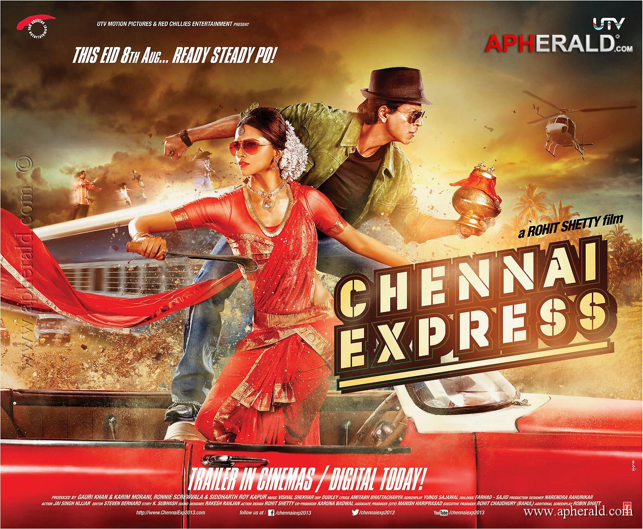 New SRK Film Chennai Express all set to create new record New SRK Film Chennai Express all set to create new record