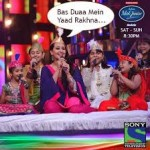Sonakshi and Imran Khan in Indian Idol junior (Qawwali special)-1