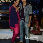 Sonakshi and Imran Khan in Indian Idol junior (Qawwali special)-2
