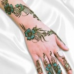 Stylish Pakistani and Arabic Mehndi Designs 2013-1