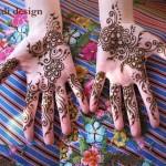 Stylish Pakistani and Arabic Mehndi Designs 2013-2