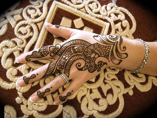 Stylish Pakistani and Arabic Mehndi Designs 2013 Latest Nail Art & Mehndi Designs 2013 by Hadiqa Kiani