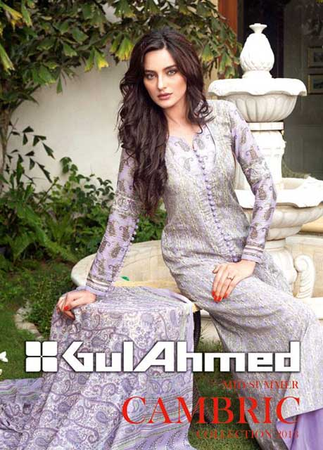 Summer Cambric Collection 2013 Is Coming Soon by Gul Ahmed Awesome 2013 Gul Ahmed Women Lawn Prints Collection