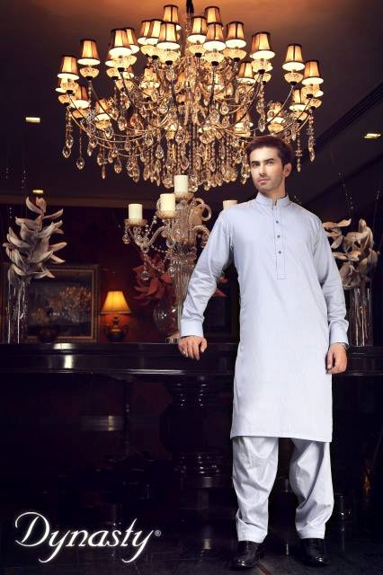 Dynasty Men Kurta Collection for Eid ul Adha Bareeze Winter Men Kurta designs 2013