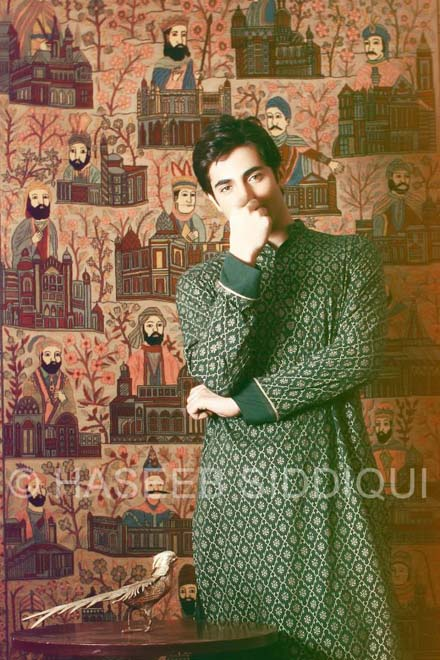 Kurta Collection for Men 2013 by Jazib Qamar