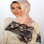 Latest Arabic Scarf Fashion 2013-14-(1)