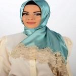 Latest Arabic Scarf Fashion 2013-14-(2)