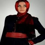 Latest Arabic Scarf Fashion 2013-14-(3)