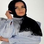 Latest Arabic Scarf Fashion 2013-14-(4)