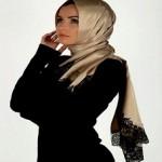 Latest Arabic Scarf Fashion 2013-14-(5)