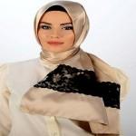 Latest Arabic Scarf Fashion 2013-14-(6)