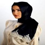 Latest Arabic Scarf Fashion 2013-14-(7)