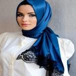 Latest Arabic Scarf Fashion 2013-14-(9)