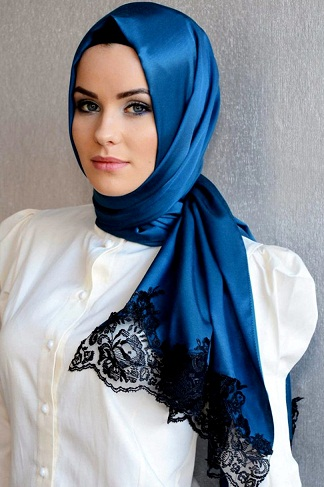 Latest Arabic Scarf Fashion 2013-14