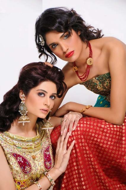 Latest Bridal Wear Collection 2013 Teeze by Syeda Amera