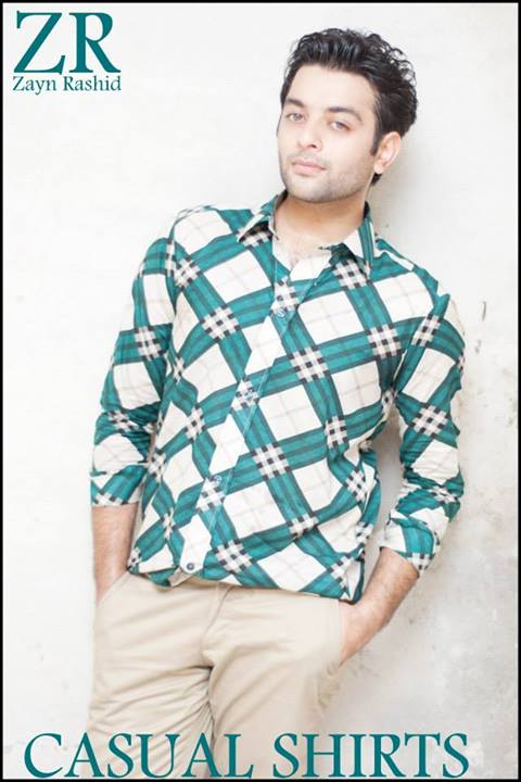 Latest Casual Shirts Collection for men by Zayn Rashid
