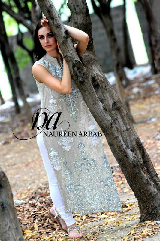 Latest Naureen Arbab Fall Collection 2013 for Women