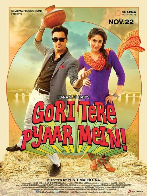 Official Trailer of Gori Tere Pyaar Mein Movie