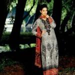 Latest Fall  Winter Khaadi Cambric Dresses 2013 for Women-9