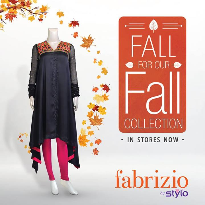 Latest Stylo Fabrizio Fall Eid Dresses 2013 for Girls